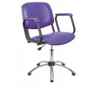 Парикмахерское кресло Контакт пневматика хром