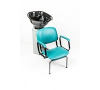 Мойка парикмахерская АКВА-3 с креслом КОНТАКТ