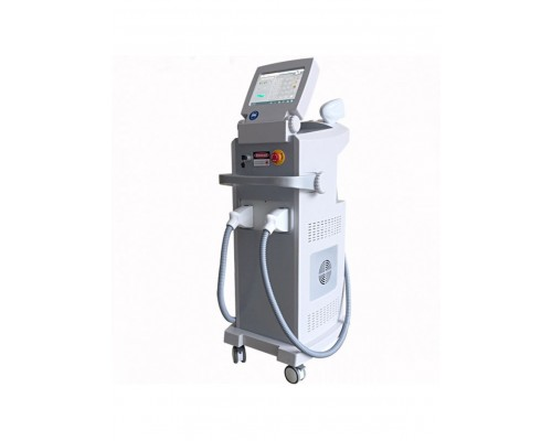 Многофункциональная платформа 2 в 1 Диодная лазерная эпиляция 808 nm и Ng:yag лазер для удаления татуажа и перманентного макияжа D-las 80